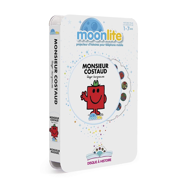 Moonlite – 6047236 – Monsieur Costaud Story Projector Pack for Children
