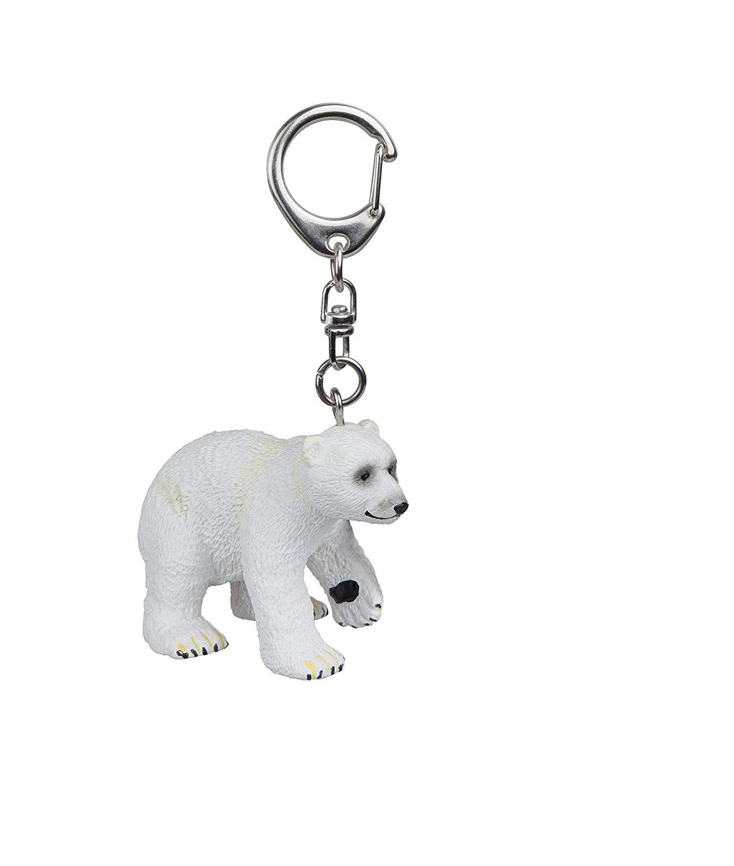 "Papo 02208 ""Polar Bear Cub Key Ring"