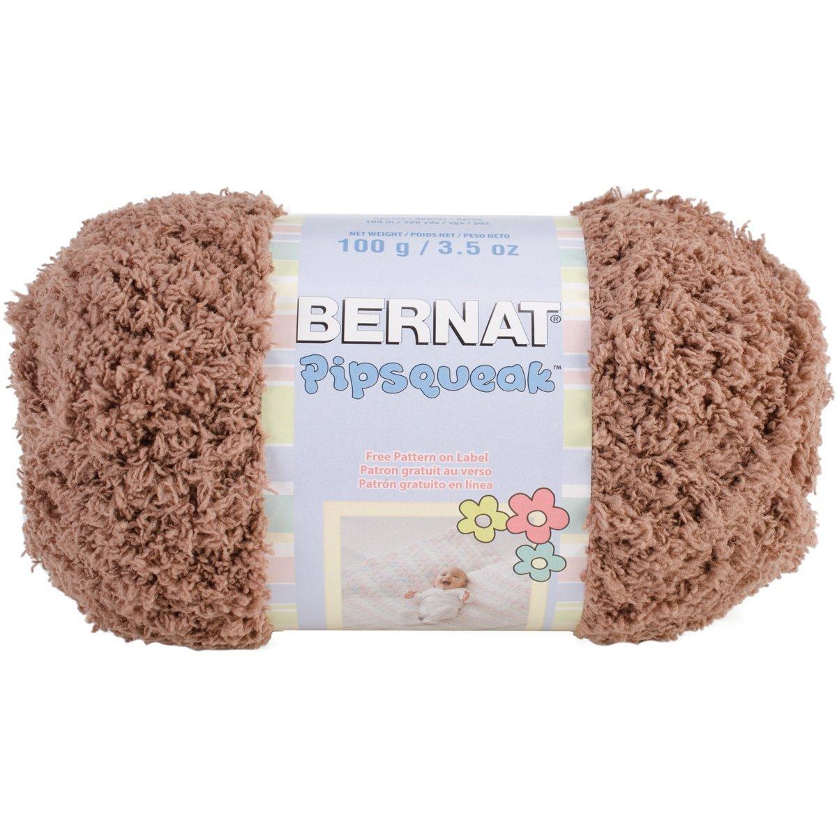 Bernat Pipsqueak Yarn-100g-Chocolate, Single Ball