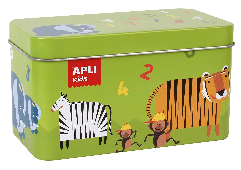 Apli kids 14556 Animal Dominos Game in Tin Box