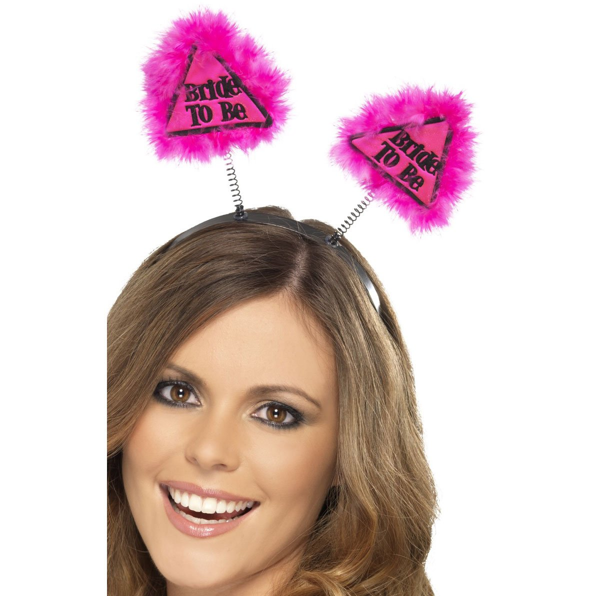 Smiffy's Bride to be Warning Boppers – Pink