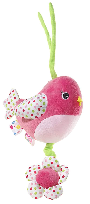 Heunec 663077Bird Pink Musical Mobile