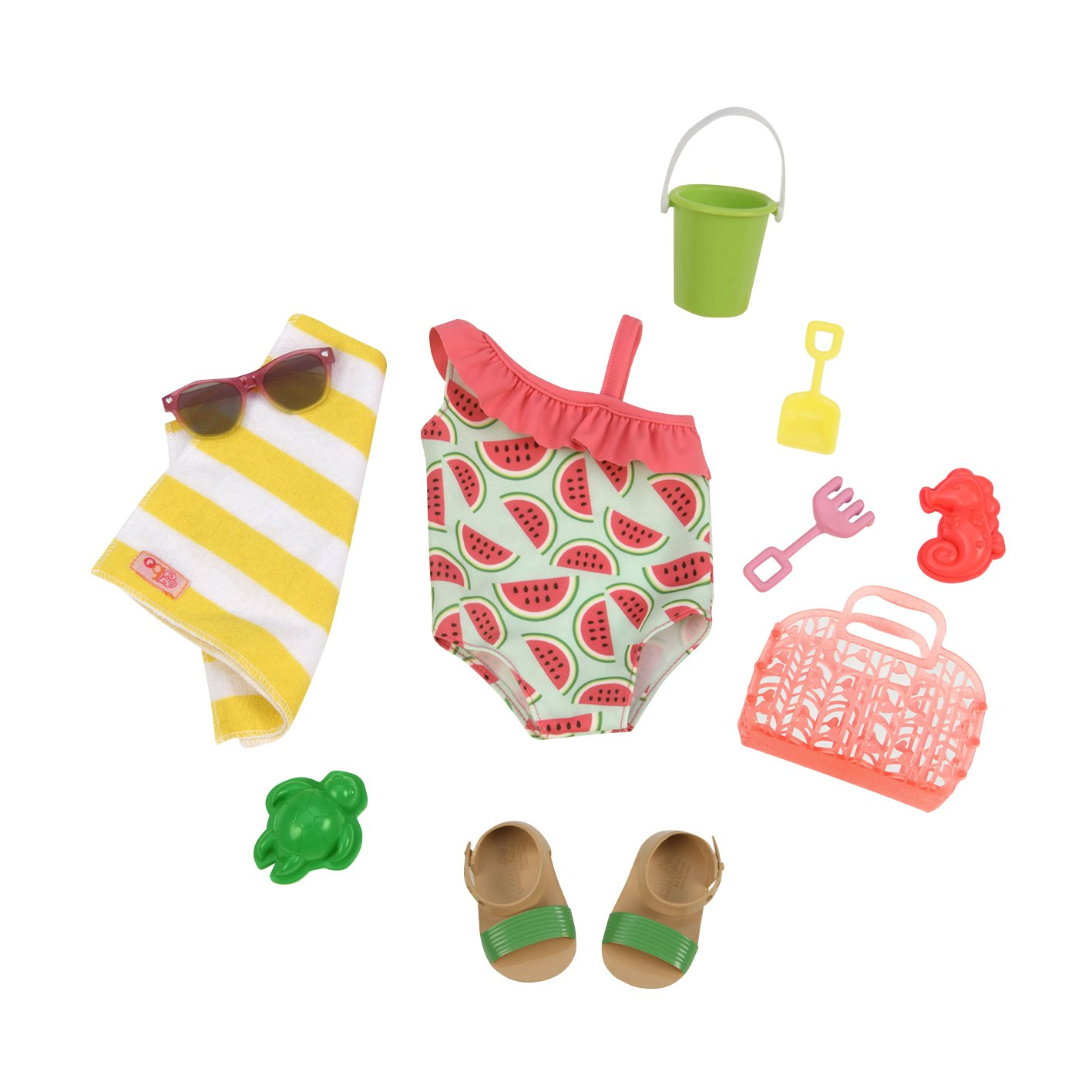 Our Generation 70.30241Z Slice Of Fun Doll Outfit Toy, Various
