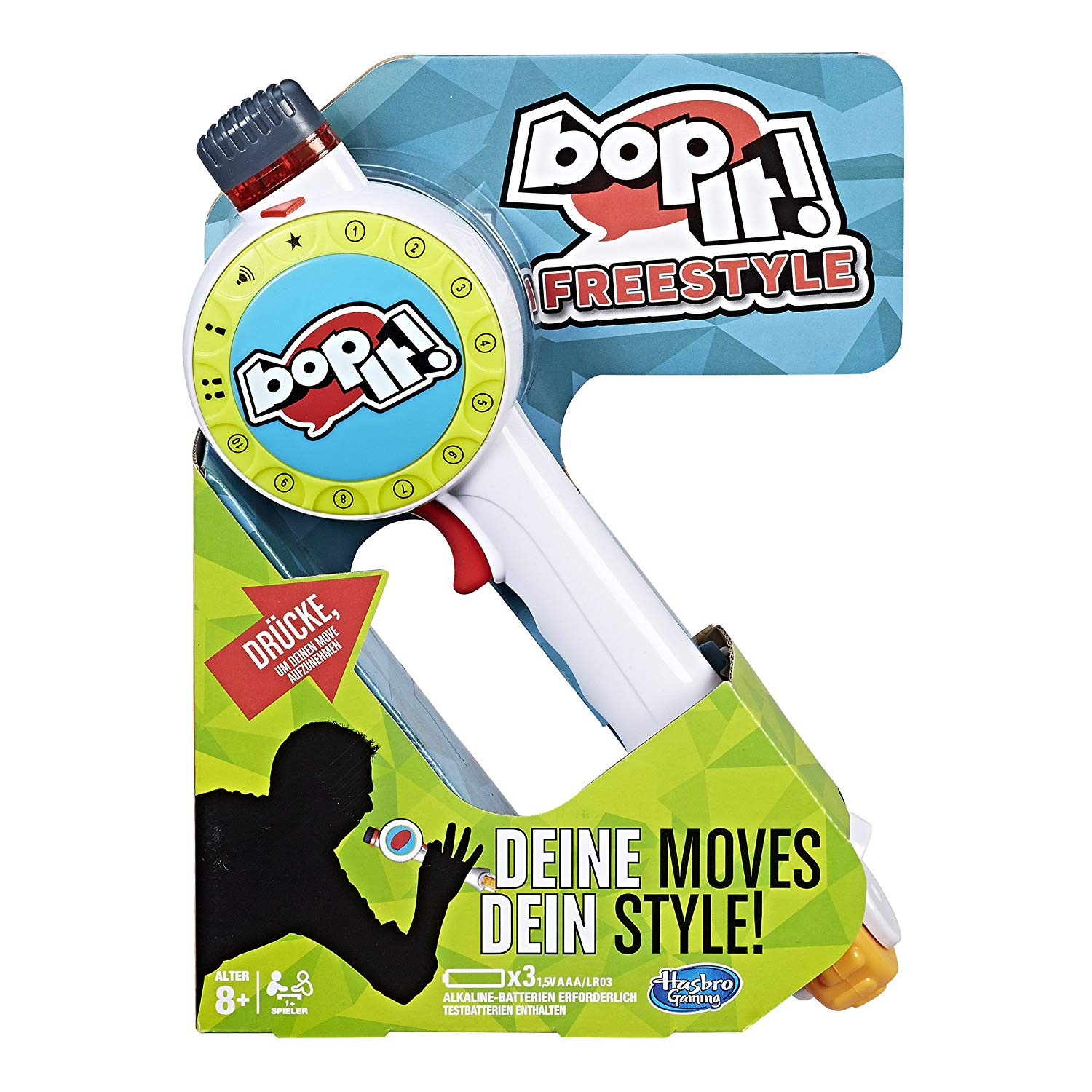 Hasbro Games C1379100 Bop It Freestyle Kids Game (German Version)