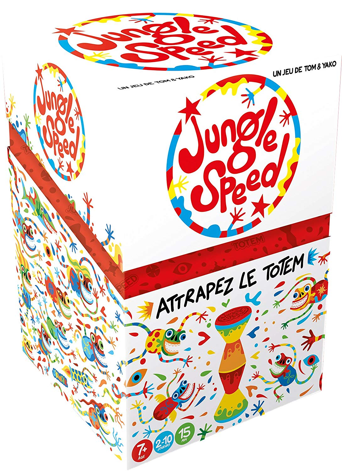 Asmodee JSSKWA01FR Jungle Speed Multicoloured One Size