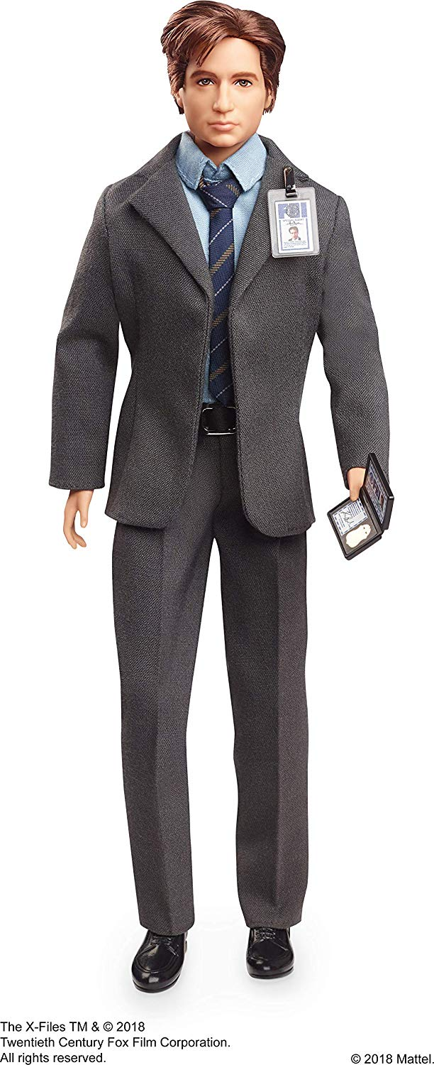 Barbie Collector Doll, The X-Files Mulder Doll