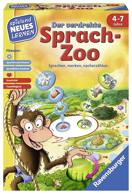 Ravensburger 24945 'Der Verdrehte Sprach-Zoo' Educational Game