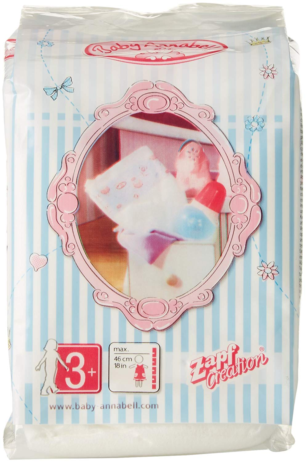 Baby Annabell 792308 Nappies, Multi-Colour - TopToy