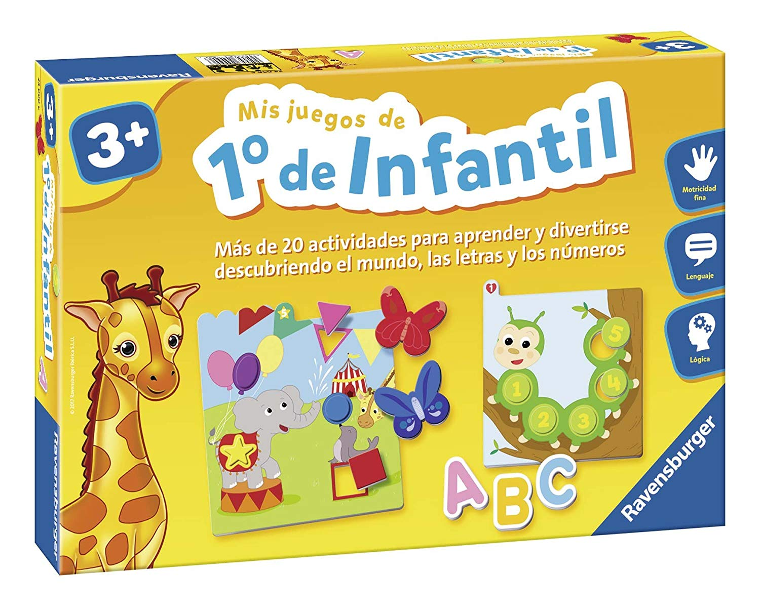 Ravensburger Learning Game, My Games of 1of children (24090)