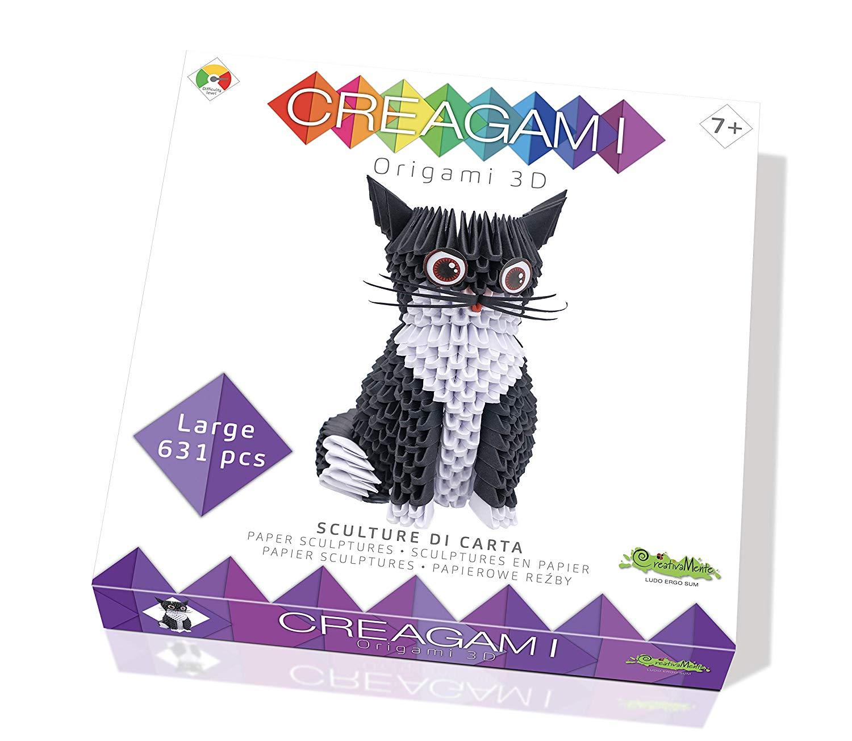 CreativaMente Creagami Cat, Multicoloured, 733