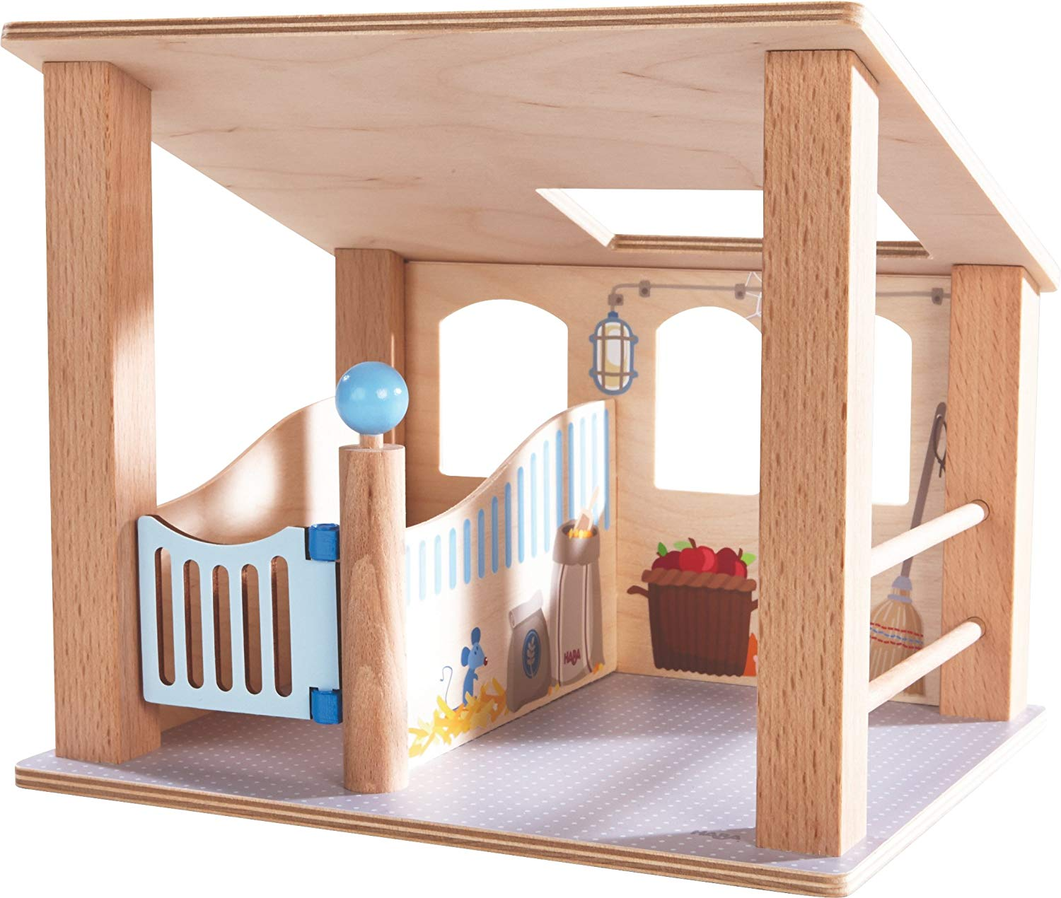 HABA 302167 Little Friends Horse Stall Toy