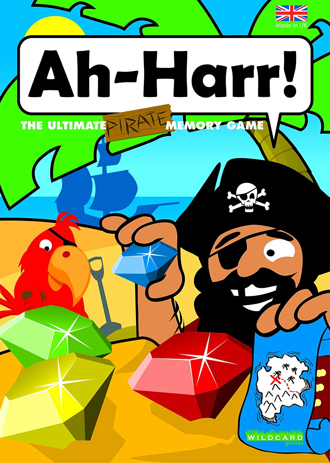 Ah-Harr! – The Ultimate Pirate Memory Matching Card Game for kids and adult pirates