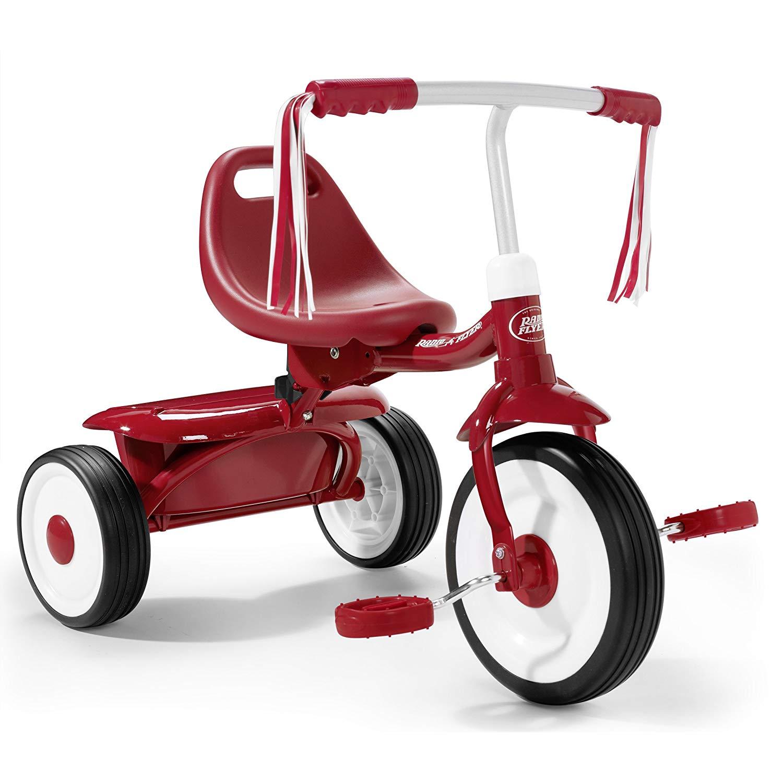Radio Flyer Fold 2 Go Trike – Red