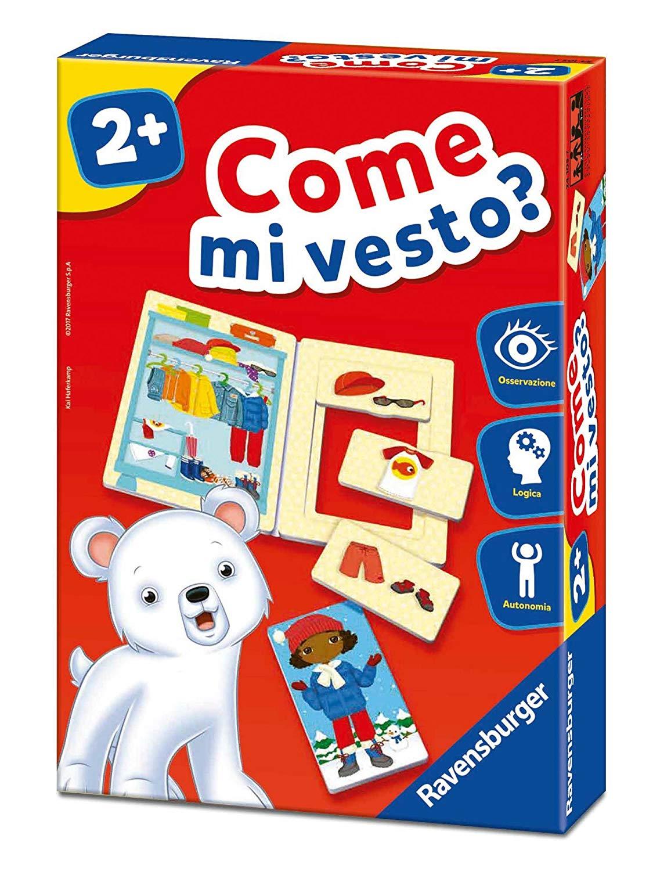 Ravensburger Italy 24105 – Come Mi Vesto Educational Game