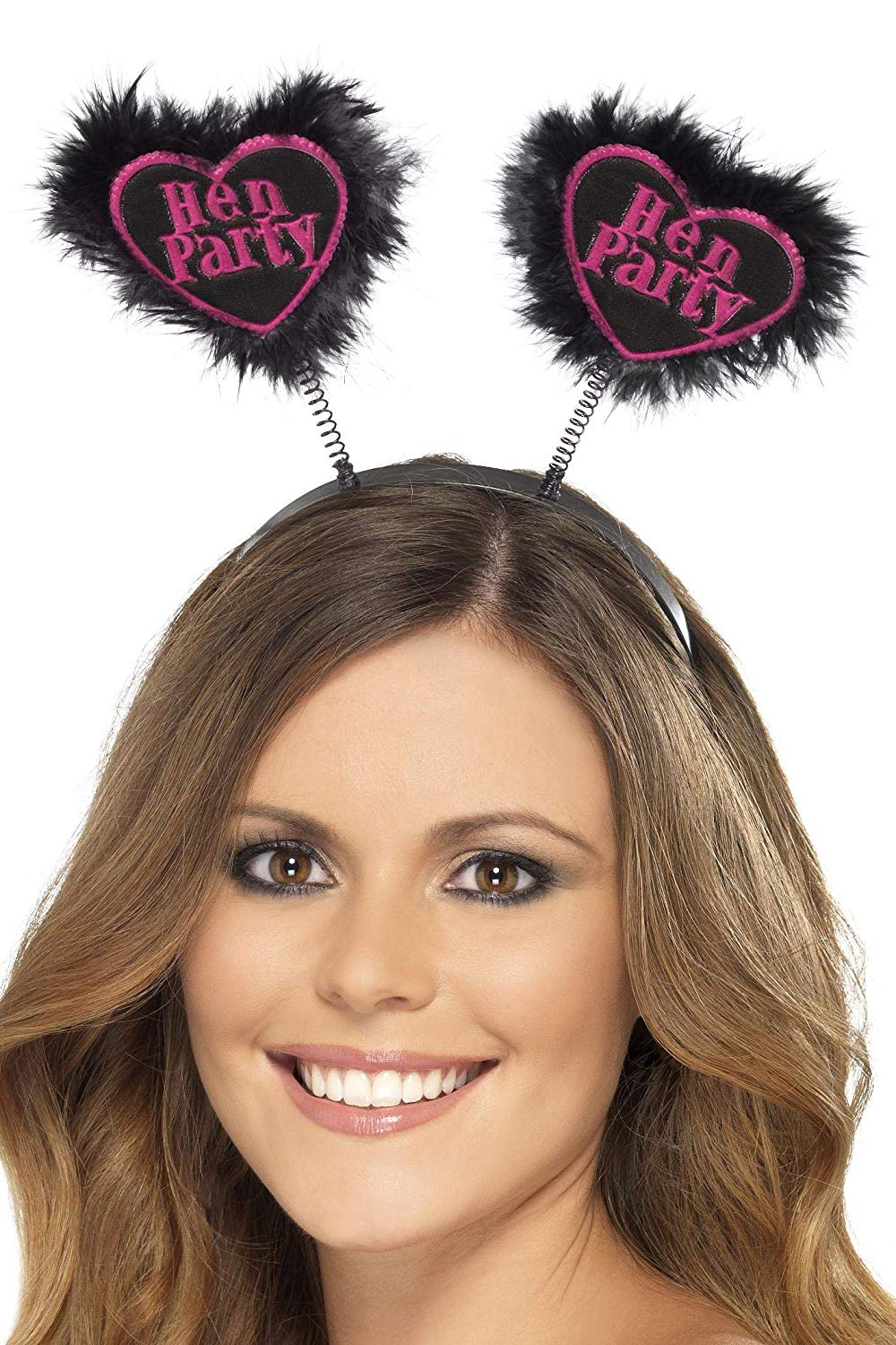 Black Hen Party Love Heart Boppers. (US)