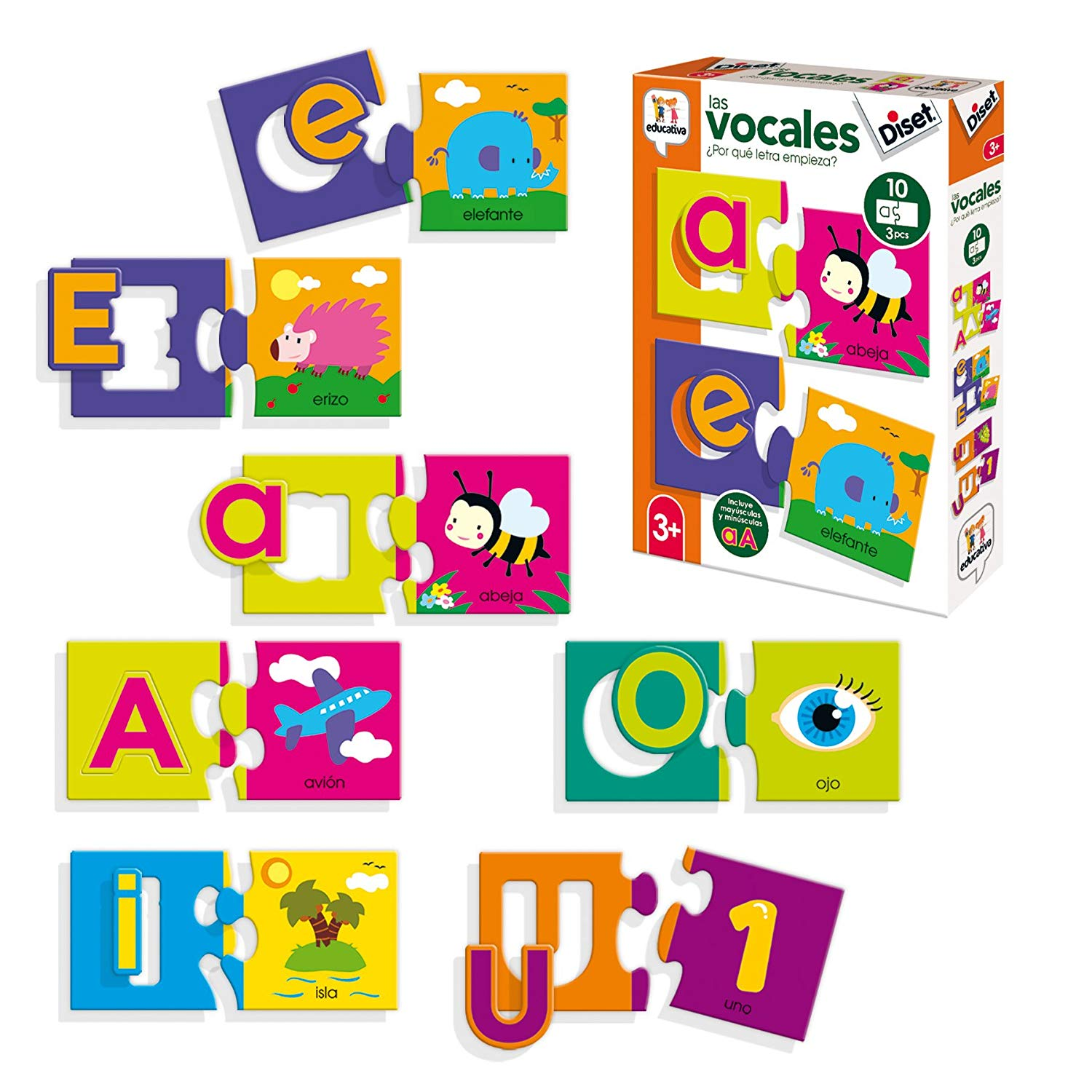 Diset – Educational Toy the Vowels (68964)