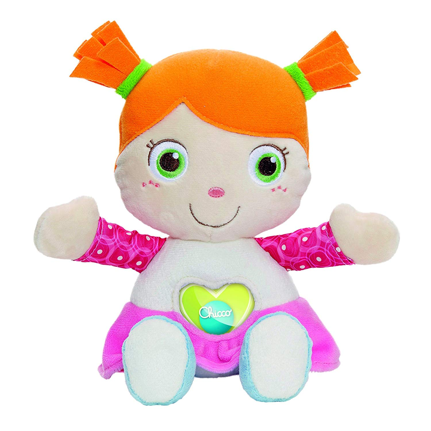 Chicco 00007942000000 Cuddly Doll First Love, Multi-Colour