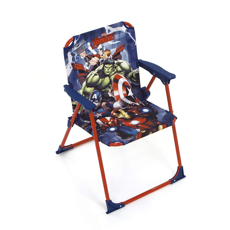 Arditex Avengers Fabric Foldable Chair, Multi-Colour, 38 x 32 x 53 cm