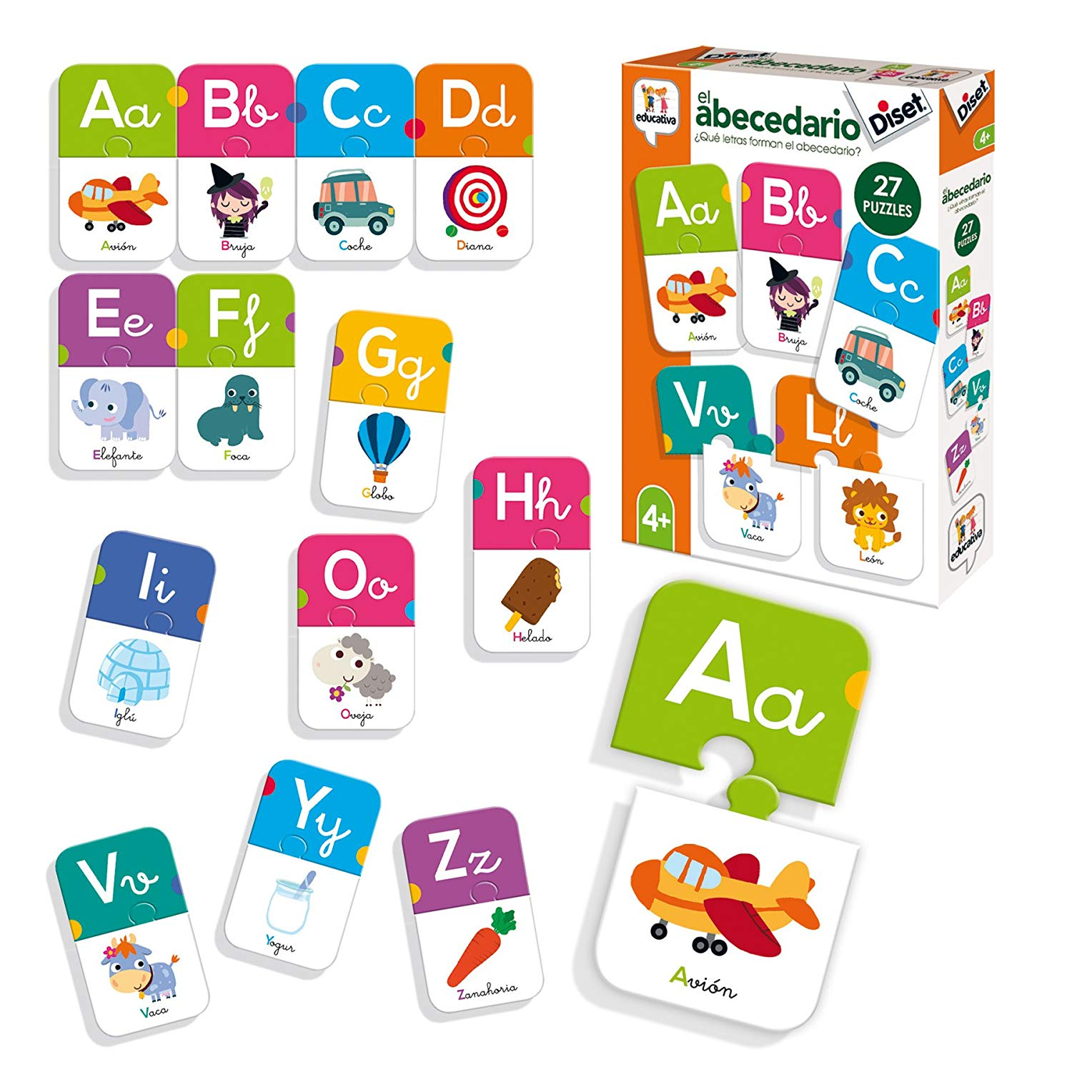 Diset – Educational Toy Alphabet (68963)