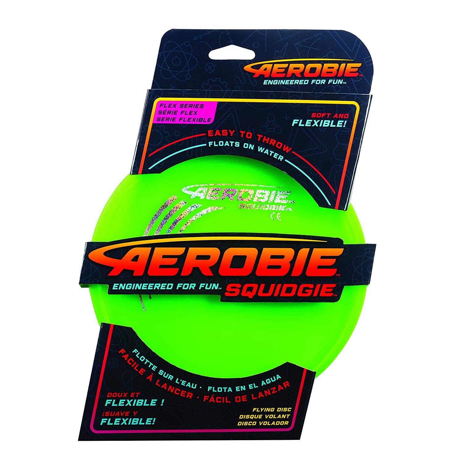 Aerobie 6046408 Squidgie Disk Assorted Colours, Various