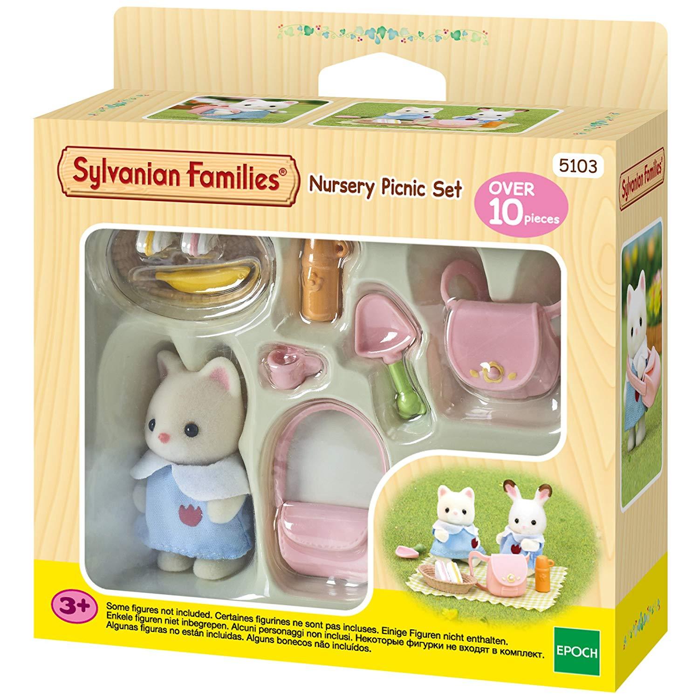 Sylvanian Families 5103 Nursery Picnic Set, Multicolor