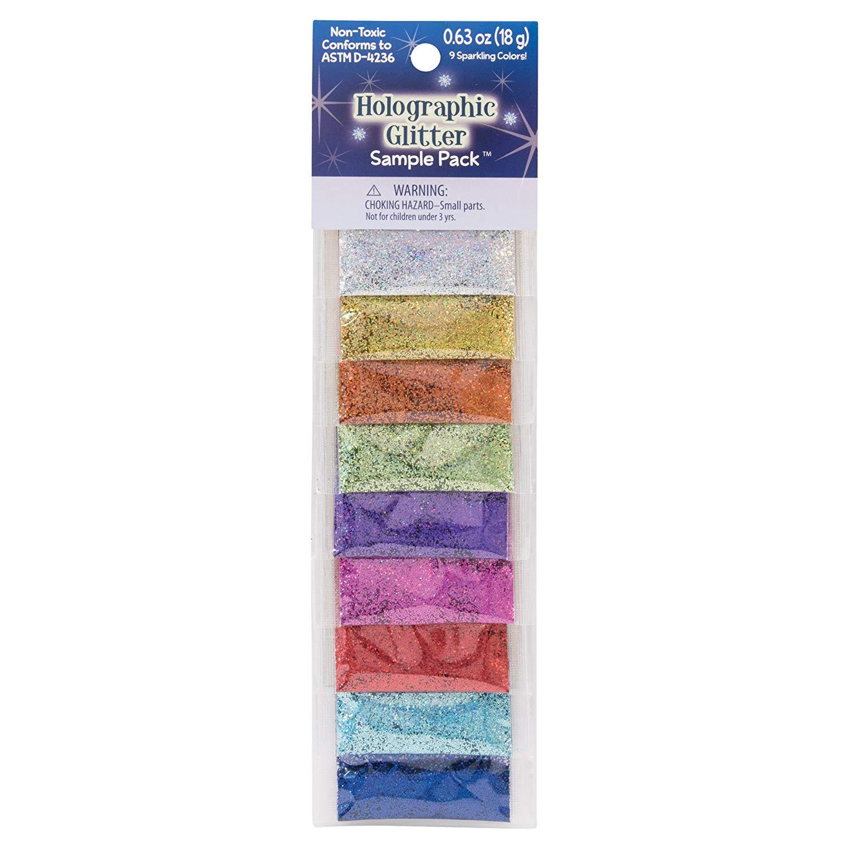 Advantus Glitter Sample Set, Multi-Colour, 0.63 x 6.98 x 24.76 cm