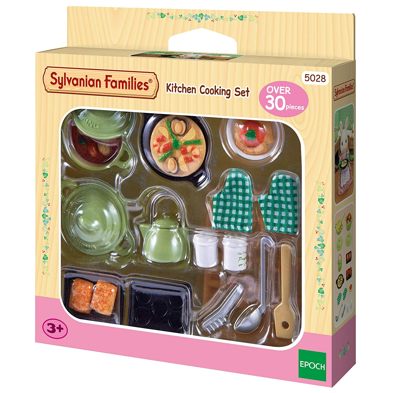 Sylvanian Families – Kitchen Cooking Set