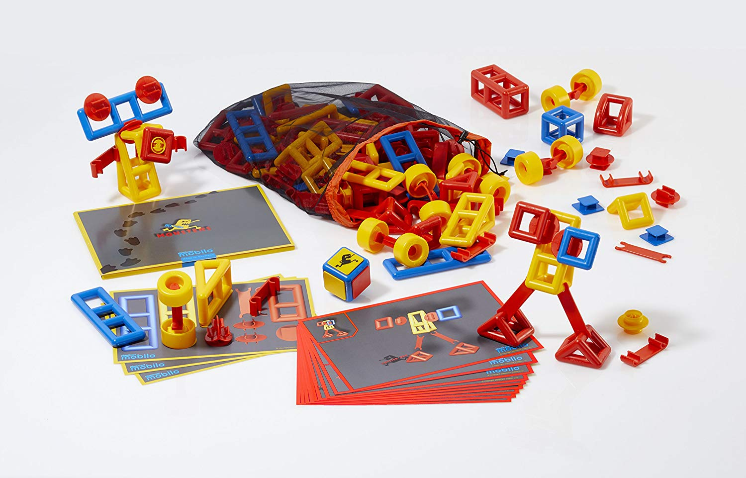 Plasticant Mobilo 270 270-Game Set Monsters, Red, Blue, Yellow