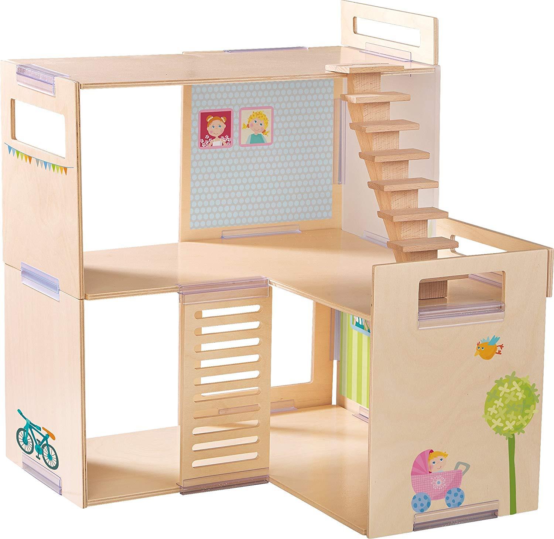 Haba 301781 Little Friends Dollhouse Villa Spring Morning Playset