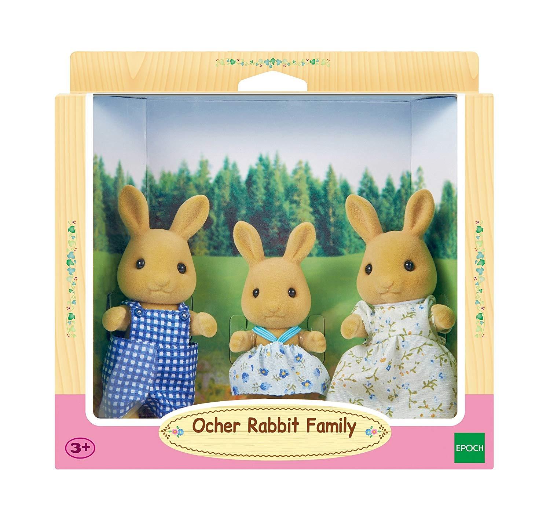Sylvanian Families – Ocher Rabbit Family Toy