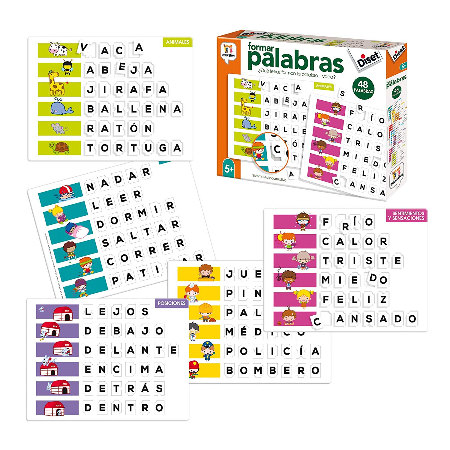 Diset Toy Educational Form Words (68952)