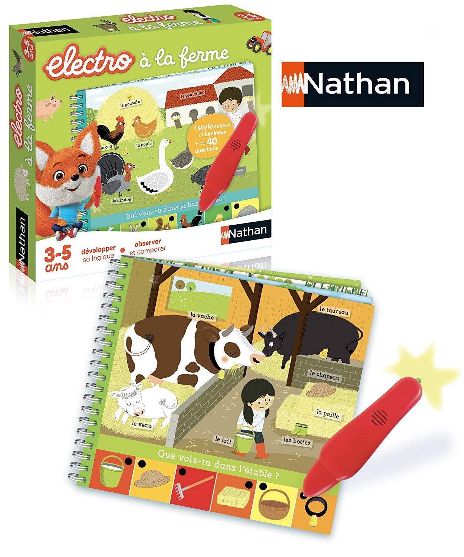 Diset Nathan–31527Small Electro Animals Farm