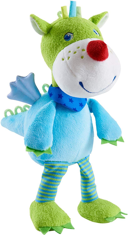 HABA Cuddlekin Dragon Duri | soft toy for baby, cuddly toy | 303879