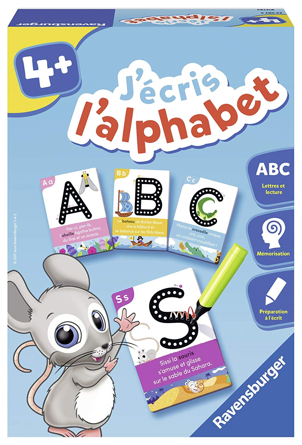 Ravensburger – 24083 – I Write The Alphabet