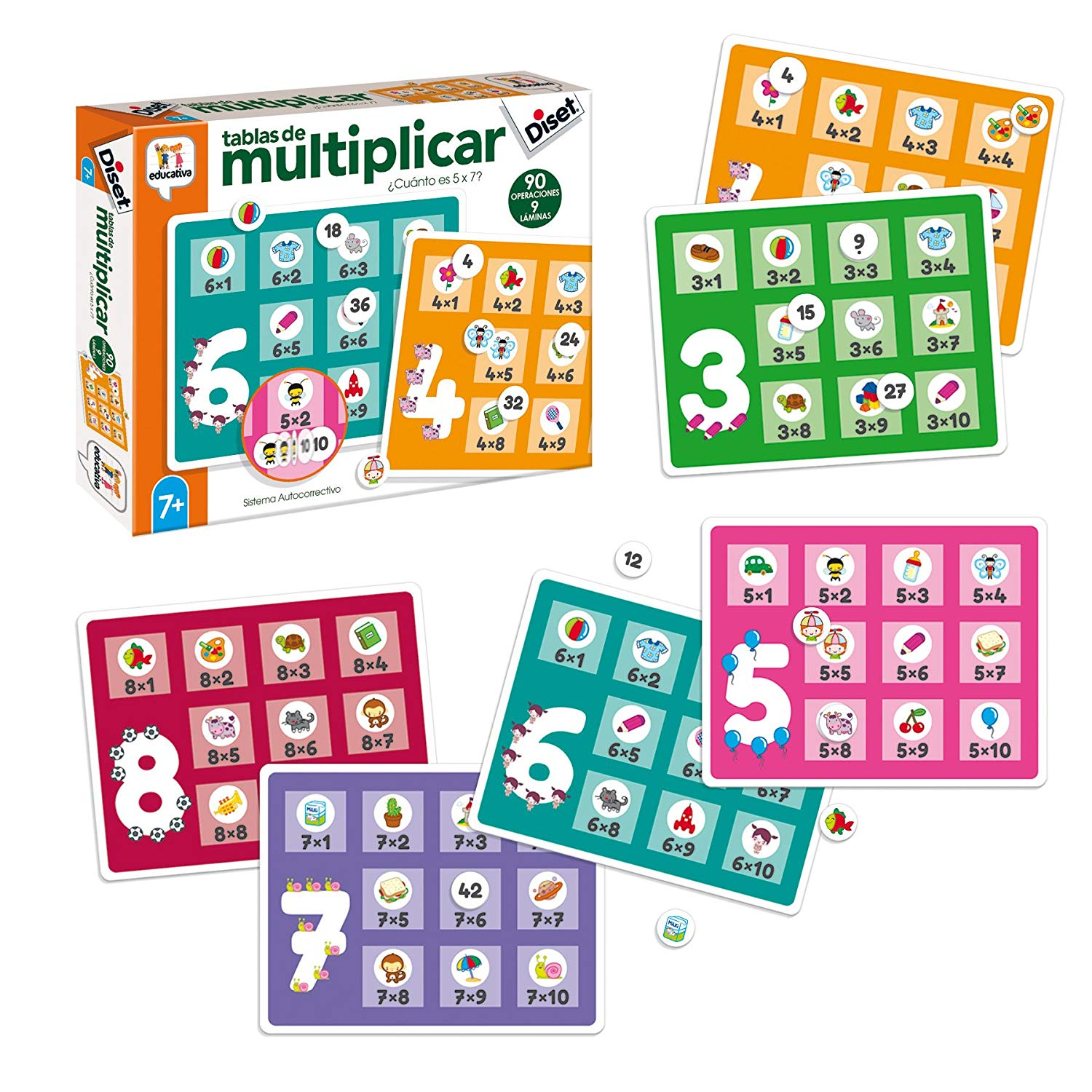 Diset–Toy Educational Times Tables (68957)