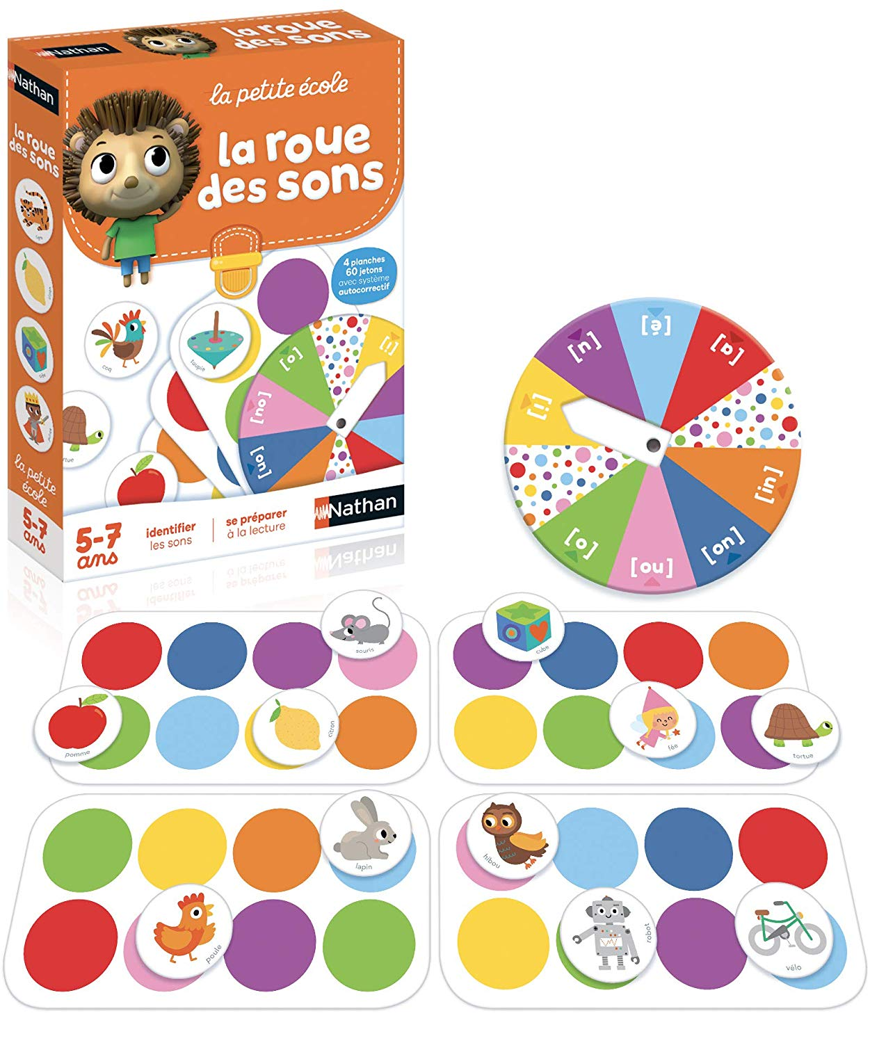 Nathan 431079 Educational Game Multi-Coloured