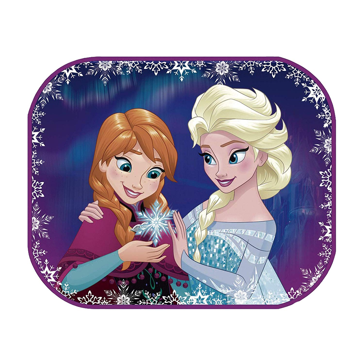 Arditex – WD9682 – Car sunshade with a poster to be coloured in – set of 2 – Frozen/Snow Queen – 44 X 36 cm