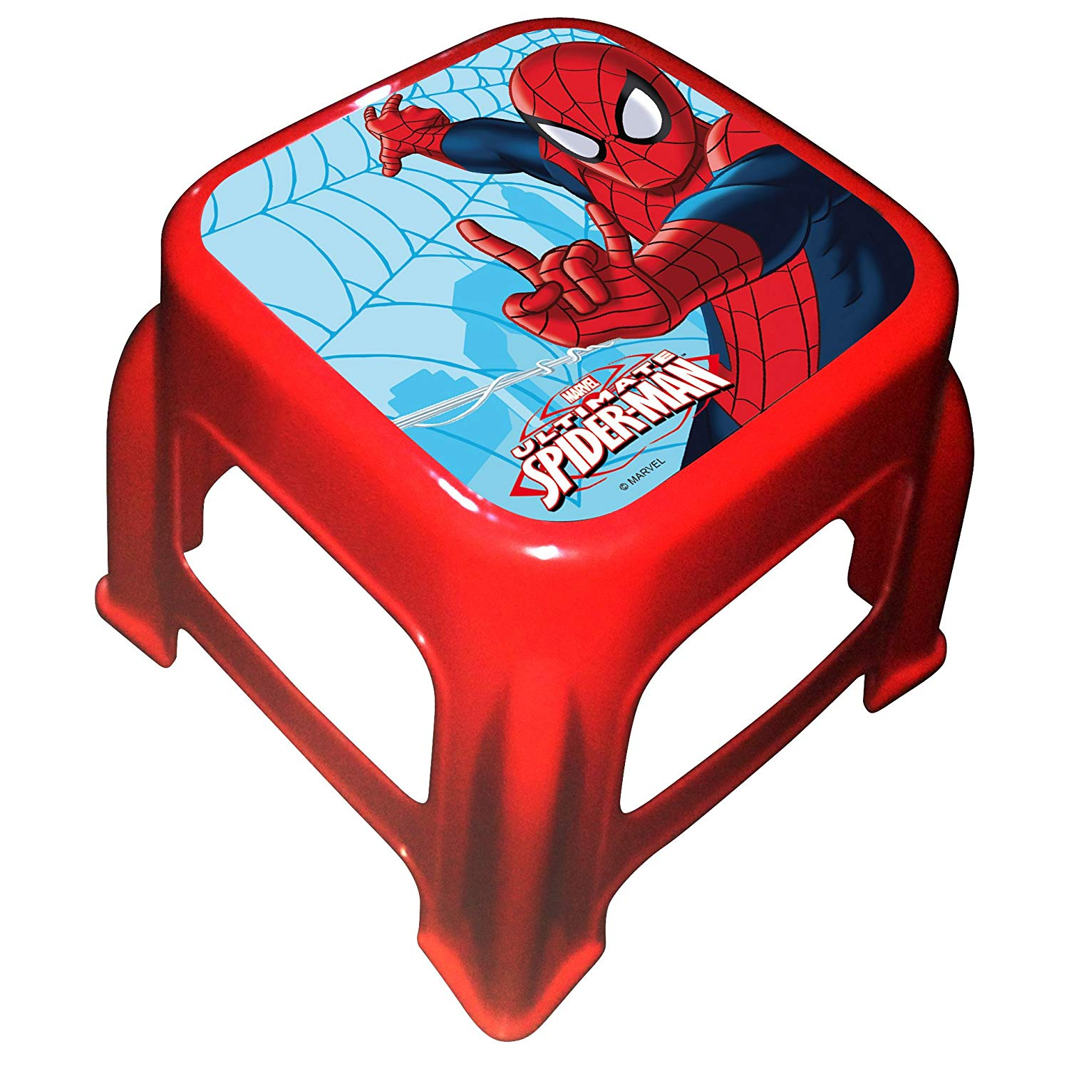 Arditex Spiderman-Pp Stool, Red, Medium