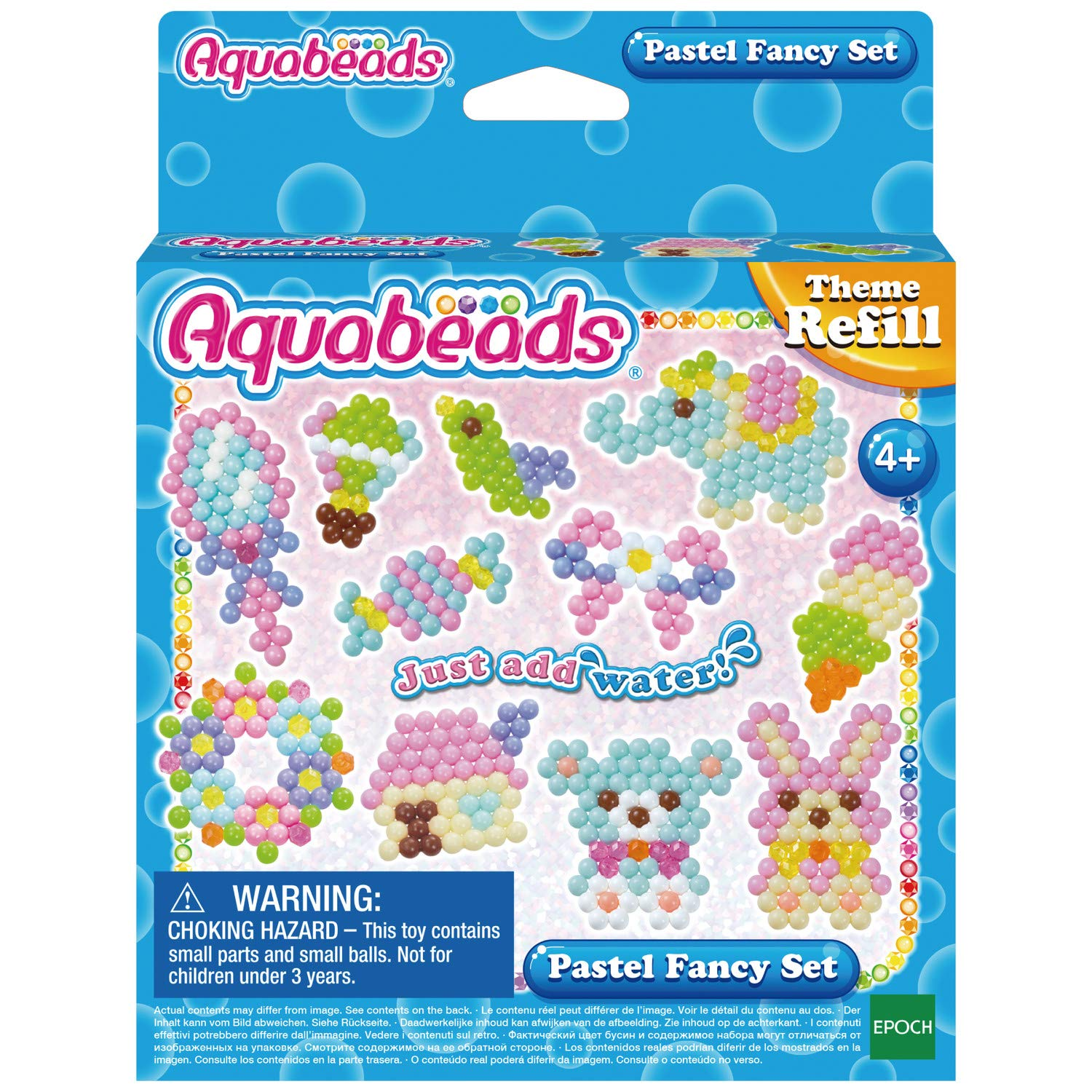 Aquabeads 31361 Pastel Fancy Set Multi-Coloured