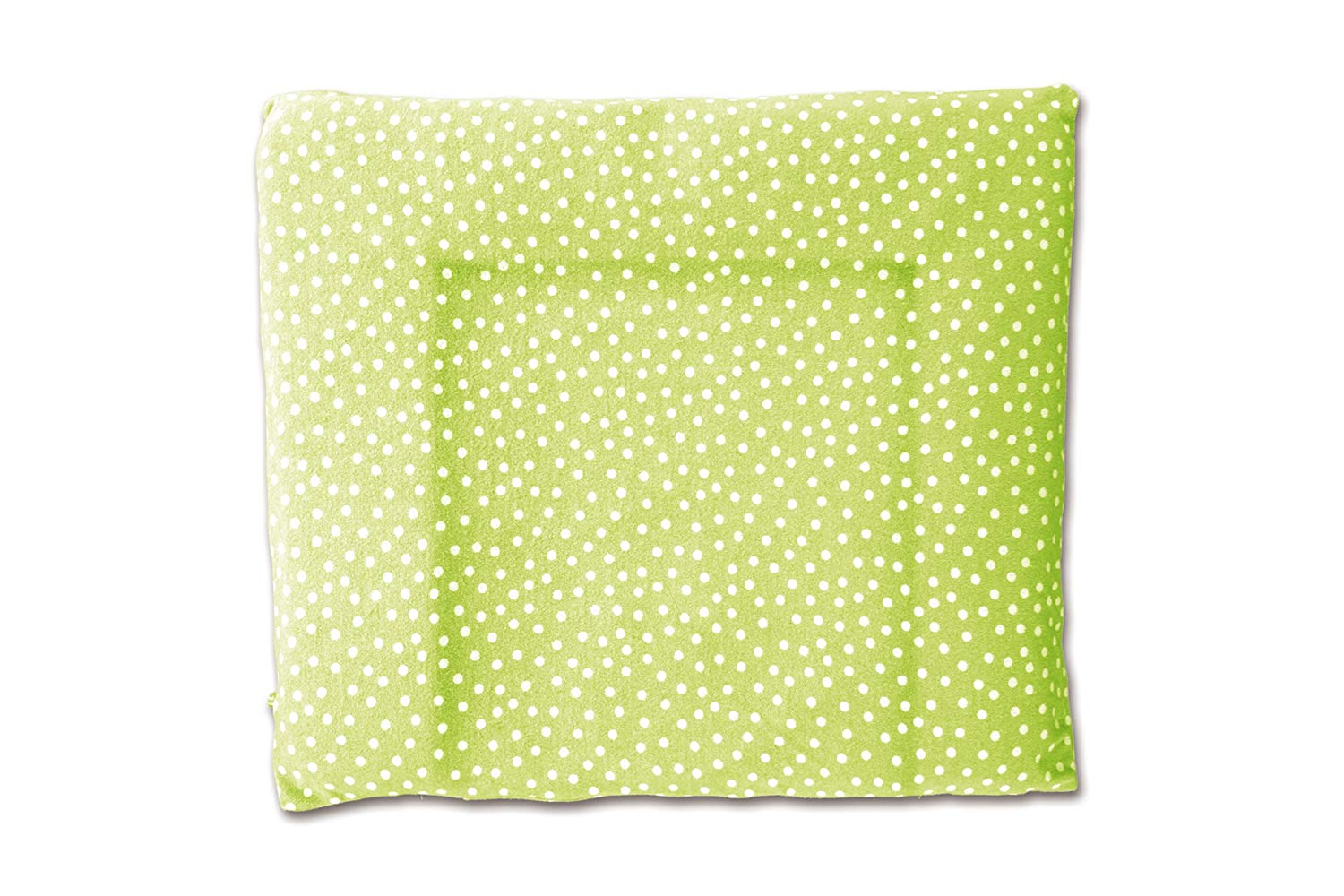 Baby Boum (75 x 85cm) Snuggly Bean Bag Cover with Spotty Design From the Youmi Scuba Collection (Lime Green)