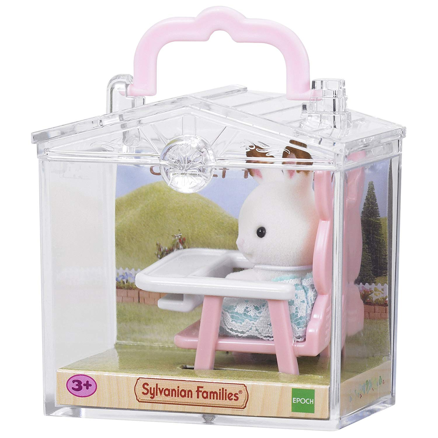Sylvanian Families – Rabbit on Baby Chair Baby Carry Case