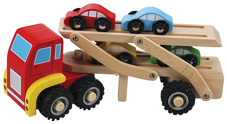 A B Gee TL72016B Wooden Car Transporter