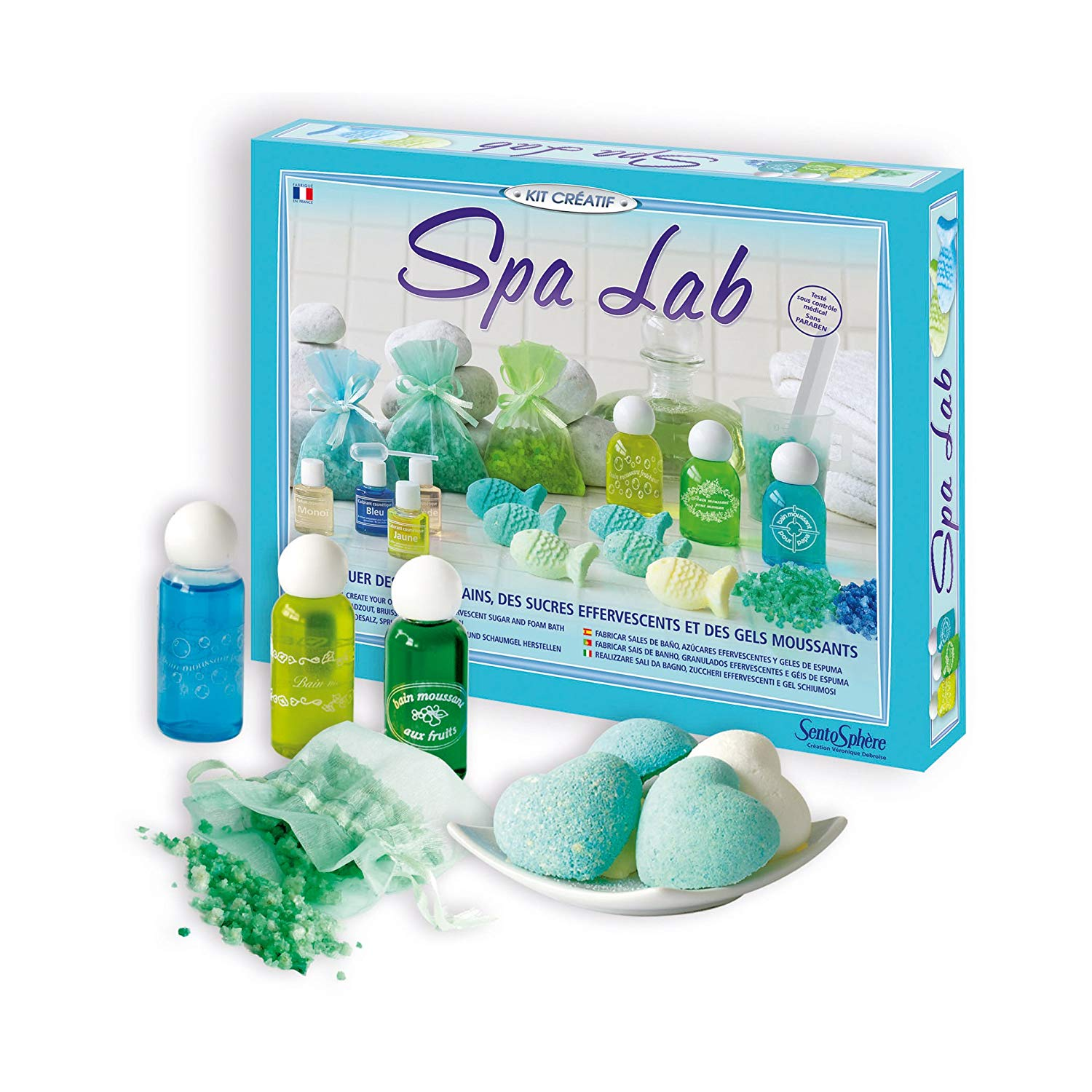 "Sentosphère 3900256 ""Spa Lab"" Creative Construction Kit"