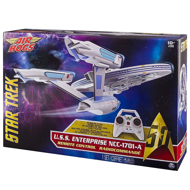 Air Hogs – 6027406 – Star Trek USS Enterprise – NCC1701-A – Remote Control – Light and Sound