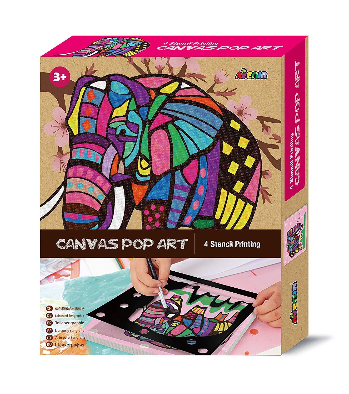 Avenir Canvas Pop Art – Elephant Kit