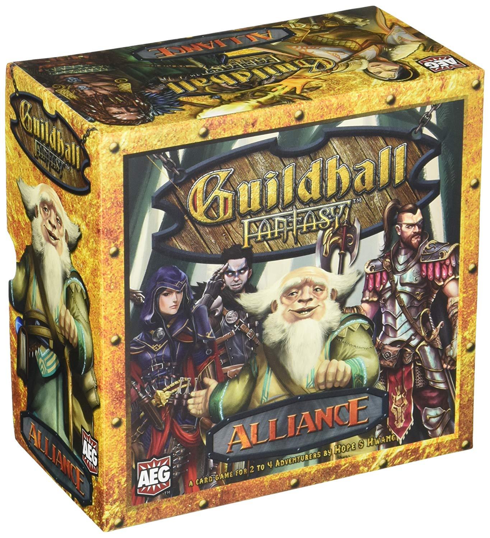 Alderac Entertainment ALD05852 Guild Hall Fantasy Alliance Card Game