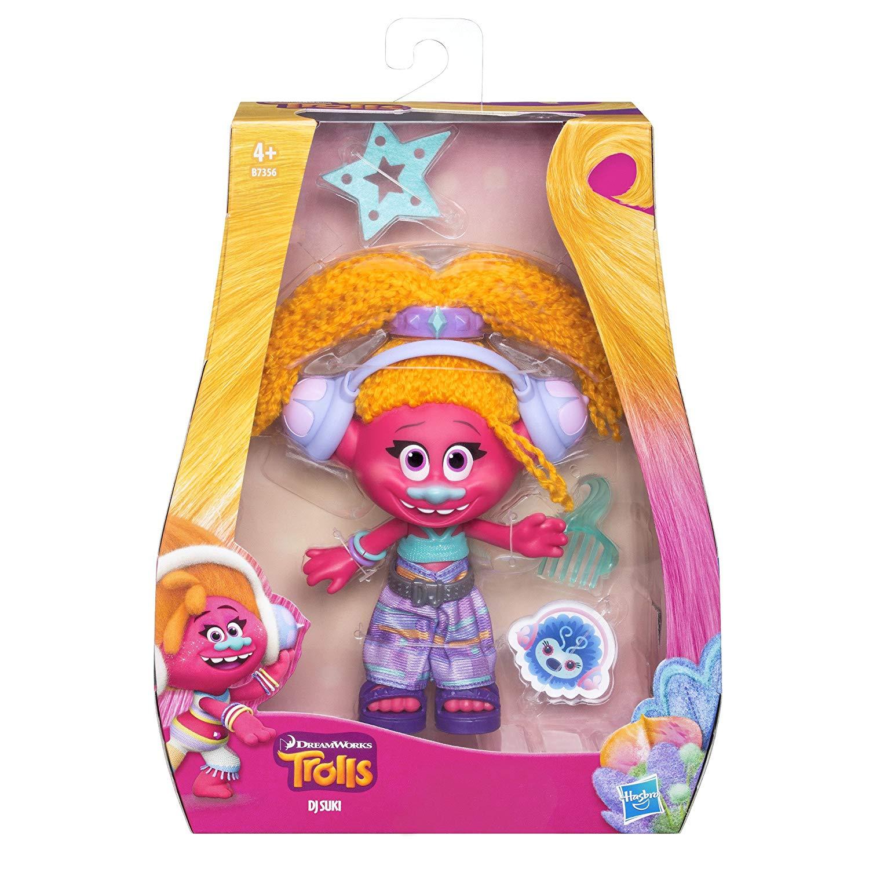 Hasbro Trolls B7356EL2Figure DJ Suki Doll