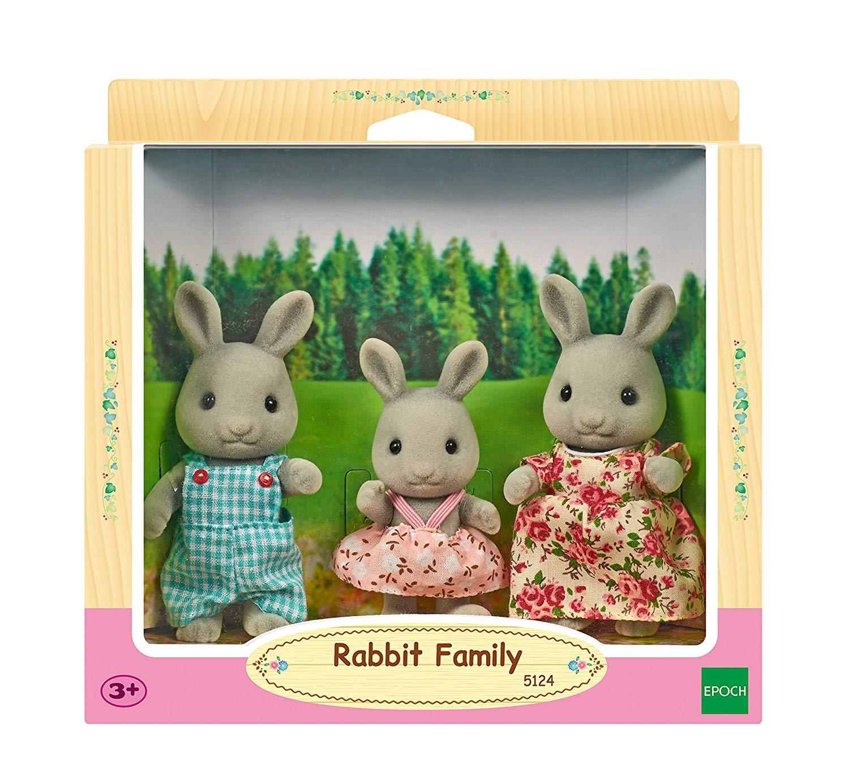 Sylvanian Families 5124 Rabbit Family Doll, Multicolor