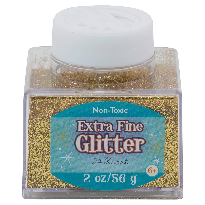 Advantus Gold-Fine Glitter 2 Ounce, Acrylic, Multicolour, 6.35×6.35×6.35 cm