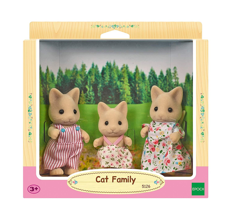 Sylvanian Families – Cat Family Toy